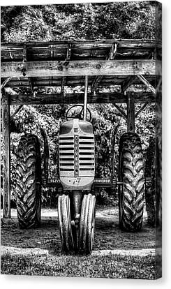Oliver Tractor Canvas Print