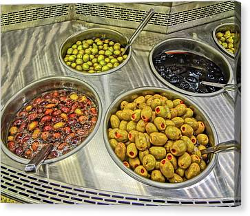 Olives Canvas Print by Bruce Iorio