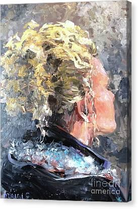Olivia Canvas Print by Diane Daigle