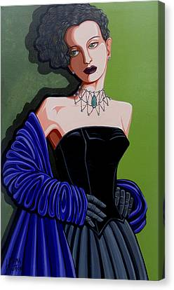 Olivia Canvas Print by Tara Hutton