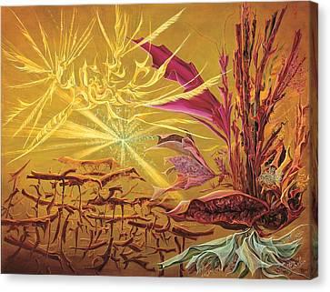 Olivier Messiaen Landscape Canvas Print