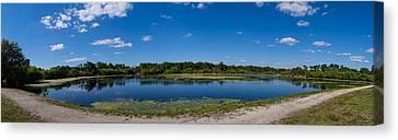Ollies Pond In Port Charlotte, Florida Canvas Print