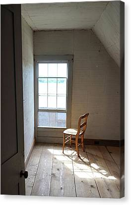 Olson House Chair And Window Canvas Print