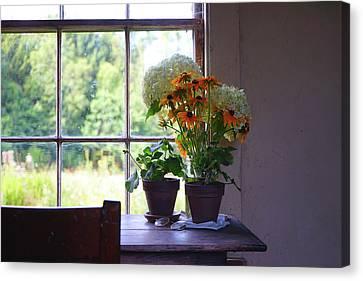 Olson House Flowers On Table Canvas Print