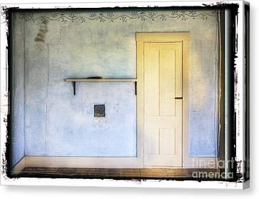 Olson White Door Canvas Print