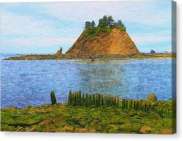Olympic Coast First Beach Canvas Print by Dan Sproul