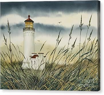 Olympic Coast Sentinel Canvas Print by James Williamson