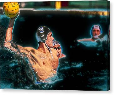 Olympic Water Polo Canvas Print