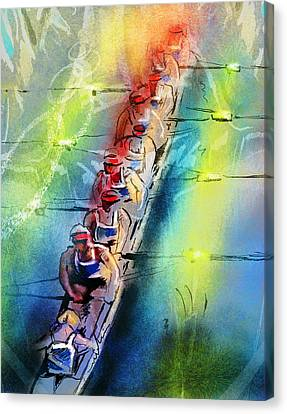 Olympics Rowing 02 Canvas Print