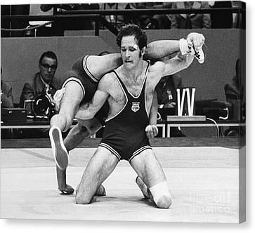 Mat Canvas Print - Olympics: Wrestling, 1972 by Granger