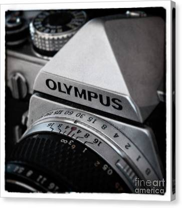 Canvas Print featuring the photograph Om-1 - D010028b by Daniel Dempster