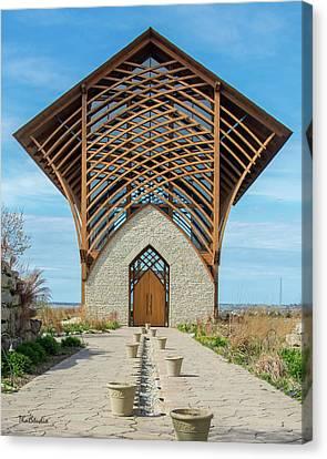 Omaha Holy Family Shrine Canvas Print
