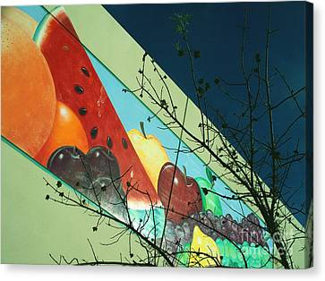 Ominous Fruit Canvas Print by Chuck Taylor