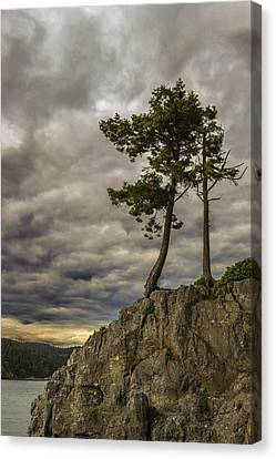 Ominous Weather Canvas Print by Ed Clark