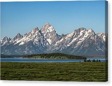 On A Clear Day Canvas Print