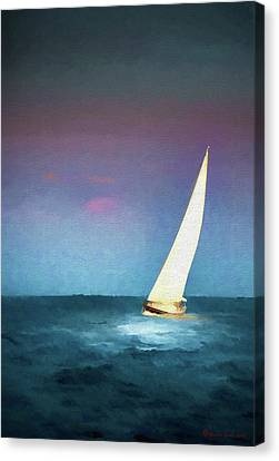 On A Good Day Canvas Print by Marvin Spates