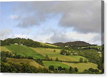Canvas Print featuring the photograph On A Hill by Christi Kraft