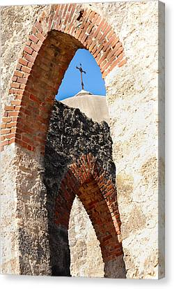Canvas Print featuring the photograph On A Mission by Debbie Karnes