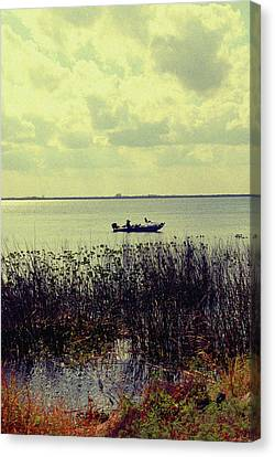 On A Sunny Sunday Afternoon Canvas Print by Susanne Van Hulst