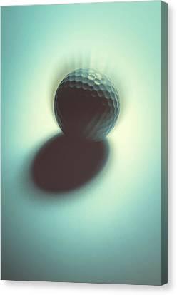 Curve Ball Canvas Print - On Edge by Tom Druin