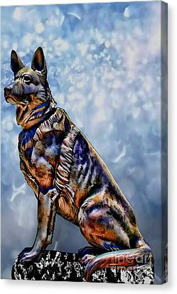On Guard Canvas Print by Tommy Anderson