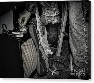 On In Two Minutes Canvas Print by Robert Frederick