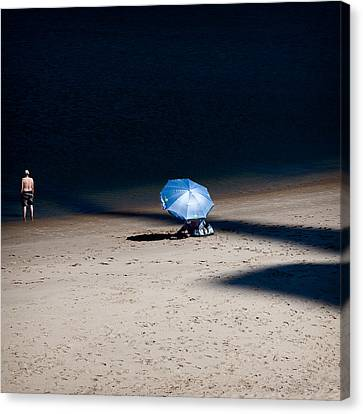 On The Beach Canvas Print by Dave Bowman