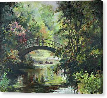 On The Bridge Canvas Print by Tigran Ghulyan