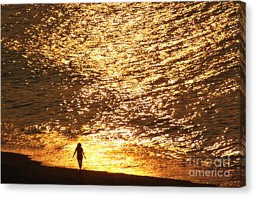 On The Edge Canvas Print by Jeff Breiman