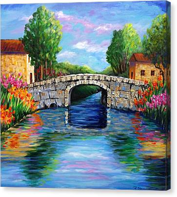 On The Other Side Of The Bridge Canvas Print
