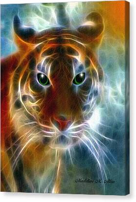 On The Prowl Canvas Print by Madeline  Allen - SmudgeArt