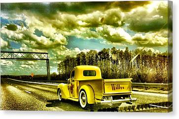 On The Road Again Canvas Print by Carlos Avila