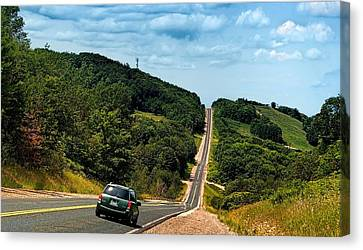 On The Road Again Canvas Print by Jeff S PhotoArt