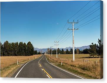 Canvas Print featuring the photograph On The Road by Gary Eason
