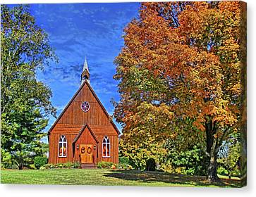 On The Road To Maryville Canvas Print