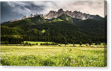 Alps Canvas Print - On The Road by Yuri Santin