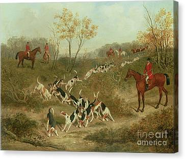 On The Scent Canvas Print by James Russell Ryott