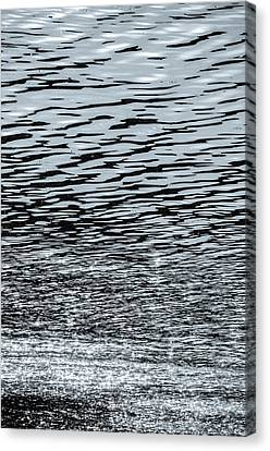 Sunlight Canvas Print - On The Shining Waters by Andrea Mazzocchetti