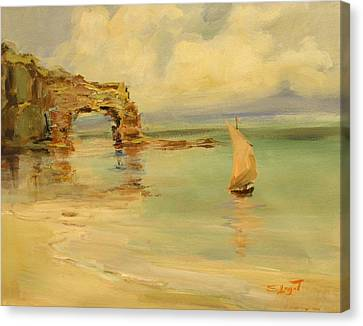 On The Shore Canvas Print by Tigran Ghulyan