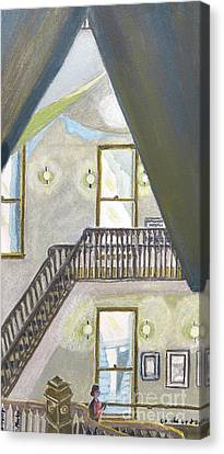 On The Up And Up Canvas Print