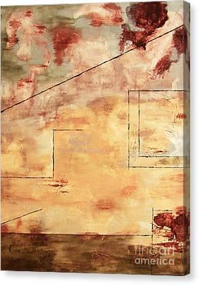 On The Verge  Canvas Print by Itaya Lightbourne