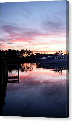 On The Waterfront Canvas Print by Laura Fasulo