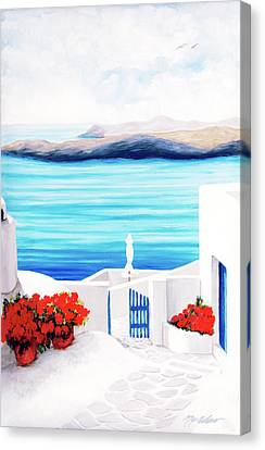 On The Way - Prints From My Original Oil Paintngs Canvas Print