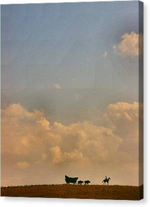 On The Way To Forever Canvas Print by Lynne and Don Wright