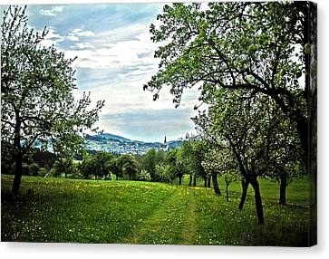On The Way To Gramastetten ... Canvas Print by Juergen Weiss