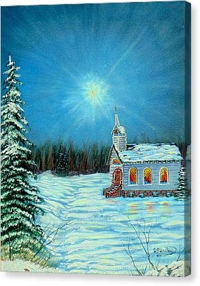 On This Night Canvas Print by David Bentley