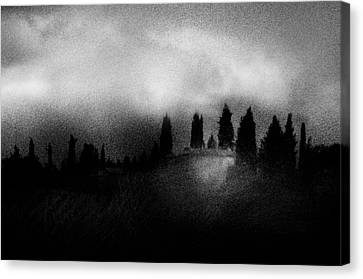 On Top Of The Hill Canvas Print by Celso Bressan