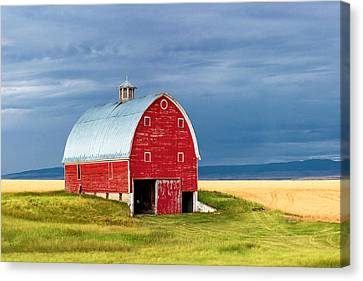 Summer Thunderstorm Canvas Print - On Trout Creek Road by Todd Klassy