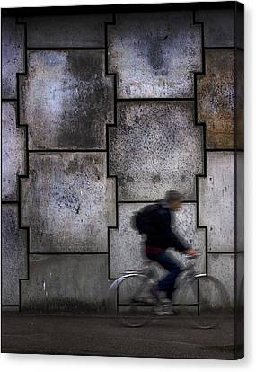 On Your Bike. Canvas Print