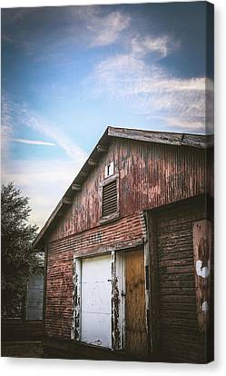 Canvas Print featuring the photograph Once Industrial - Series 1 by Trish Mistric